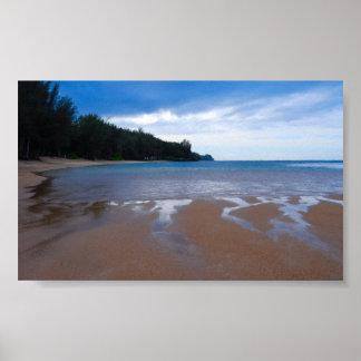 Anini Beach Kauai, Hawaii Posters