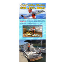 Anini Fishing Charters Rack Card