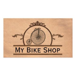 Anique Bike Shop Business Card
