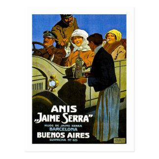 Anis Jaime Serra Buenos Aires - anuncio del Postal