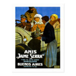 Anis Jaime Serra Buenos Aires - Vintage Ad Post Card