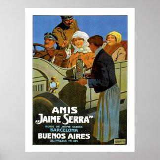 "Anis ""Jaime Serra "" Poster"