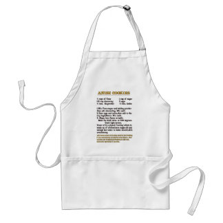 anise cookies apron