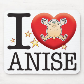 Anise Love Man Mouse Pad