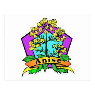 Anise Postcard