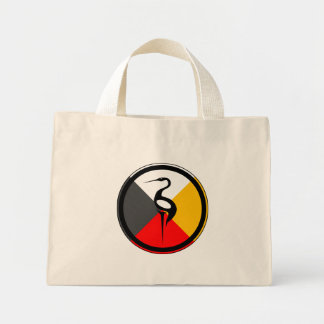 Anishinaabe Dodem Ajijaak Mini Tote Bag