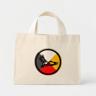 Anishinaabe Dodem Giniw Mini Tote Bag
