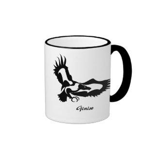 Anishinaabe Dodem Giniw Ringer Mug