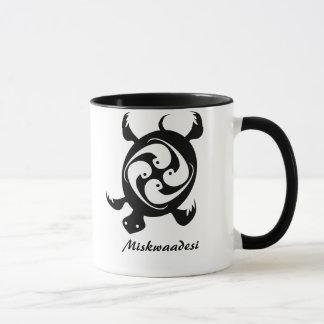 Anishinaabe Dodem Miskwaadesi Mug