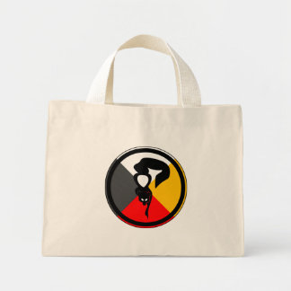 Anishinaabe Dodem Waabizheshi Mini Tote Bag