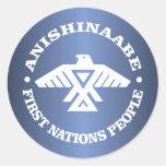 Anishinaabe (Ojibwe, Chippewa) Round Sticker