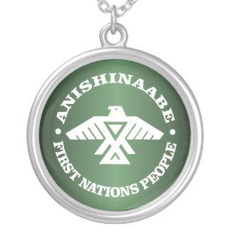 Anishinaabe (Ojibwe, Chippewa) Silver Plated Necklace