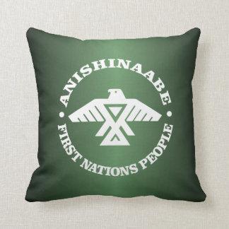 Anishinaabe (Ojibwe, Chippewa) Throw Pillow
