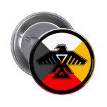 Anishinaabe Thunderbird en las cuatro direcciones Pins