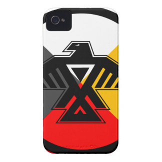 Anishinaabe Thunderbird in the Four Directions iPhone 4 Case-Mate Cases