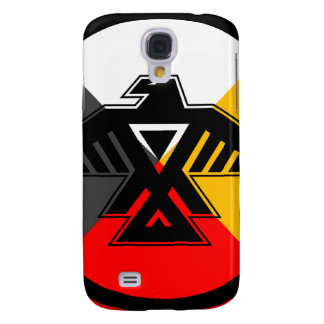 Anishinaabe Thunderbird in the Four Directions Samsung Galaxy S4 Cases