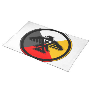 Anishinaabe Thunderbird in the Four Directions Cloth Placemat