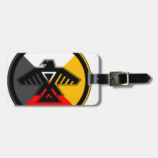 Anishinaabe Thunderbird in the Four Directions Travel Bag Tags