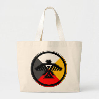 Anishinaabe Thunderbird Large Tote Bag