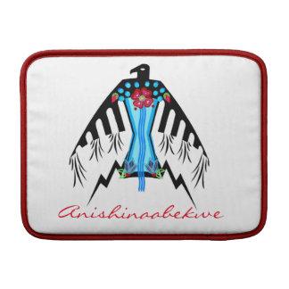 Anishinaabekwe Thunderbird Sleeve For MacBook Air