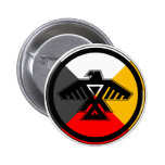Anishinabek Dodem & 4 Directions Button