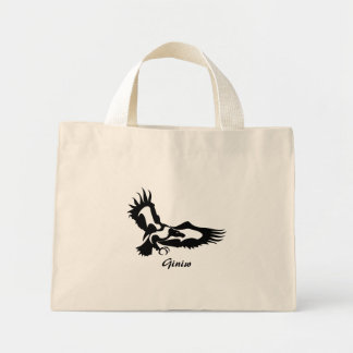 Anishinabek Dodem Giniw Mini Tote Bag