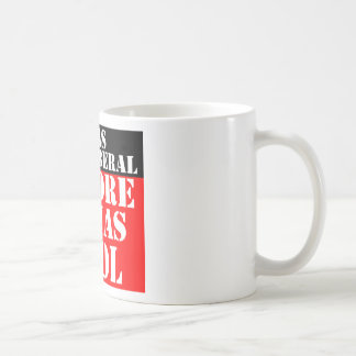 Anit-Liberal Before It Was Cool Coffee Mug
