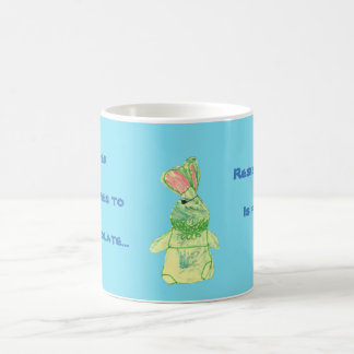 Anita Bunny Chocolate Blue Mug All Options