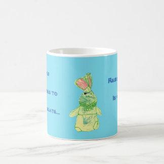 Anita Bunny Chocolate Blue Mug All Options