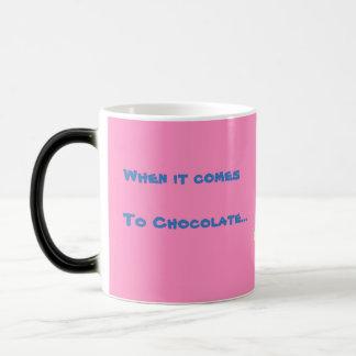 Anita Bunny Chocolate Pink Morphing Mug