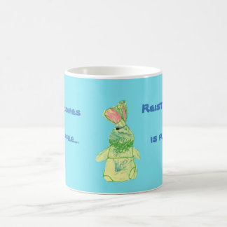 Anita Bunny Tea Blue Morphing Mug