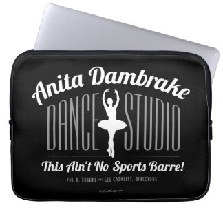 Anita Dambrake Dance Studio Computer Sleeve