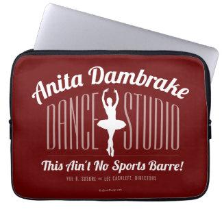 Anita Dambrake Dance Studio Laptop Sleeve