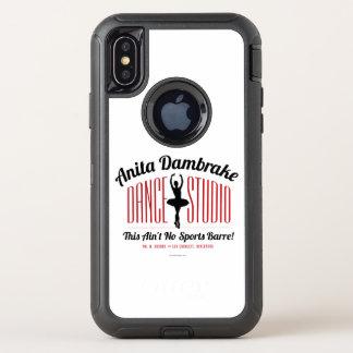 Anita Dambrake Dance Studio OtterBox Defender iPhone X Case