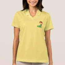 Anita Laying Down Polo Shirt