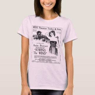 Anita Stewart 1921 vintage movie ad T-shirt