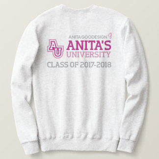 Anita's University Logo Sweatshirt