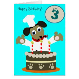 Anivalley Davey Dog Card