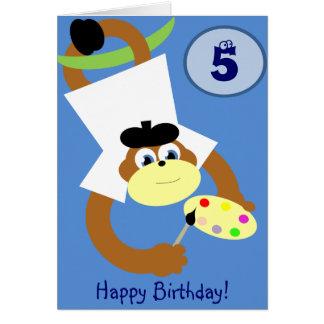 Anivalley Monty Monkey Card