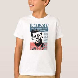 Aniversario 1963 - 2013 del asesinato de JFK Playera
