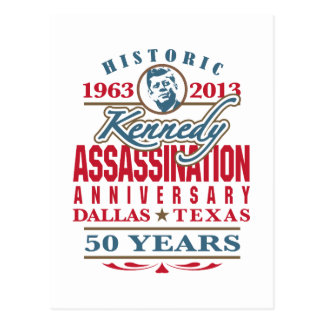 Aniversario 1963 - 2013 del asesinato de JFK Postales