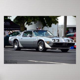 Aniversario 1979 del transporte 10ma de Pontiac Póster