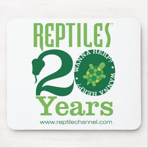 Aniversario #3 de los REPTILES Alfombrilla De Ratón