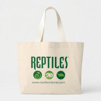 Aniversario #4 del reptil bolsa tela grande
