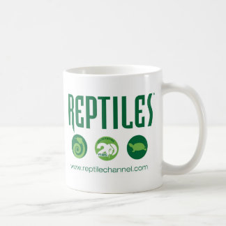 Aniversario #4 del reptil taza de café
