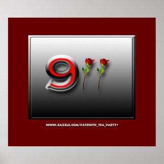 Aniversario 911 póster