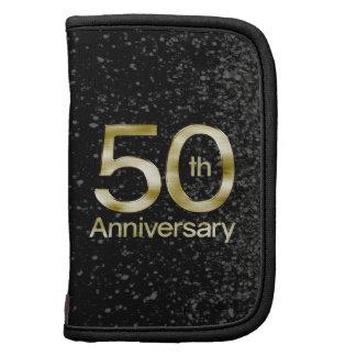 Aniversario atractivo del oro 50.o organizadores