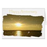 Aniversario brillante para el marido felicitacion