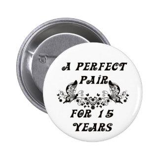 Aniversario de 15 años pins