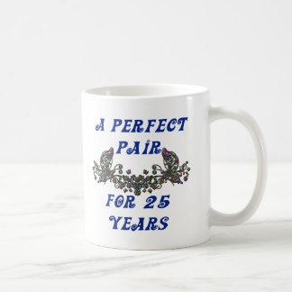 Aniversario de 25 años taza